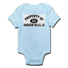 Property of ANAHEIM HILLS Infant Creeper