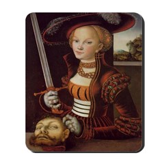 Judith Victorious Mousepad