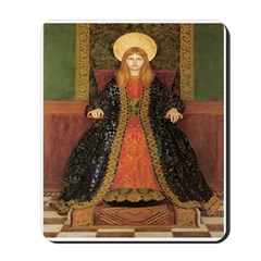 The Child Enthroned Mousepad