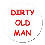 OLD3.png Round Car Magnet