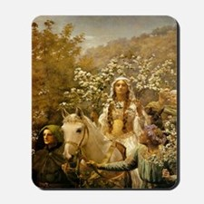 Lady Guinevere 'The Maying' Mousepad