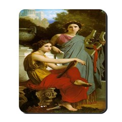 Art and Literature Mousepad