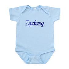 Zachery, Blue, Aged Infant Bodysuit