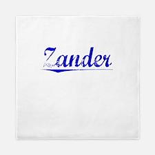 Zander, Blue, Aged Queen Duvet