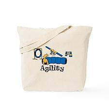 Agility Dog Tote Bag