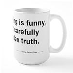 George Bernard Shaw Large Mug