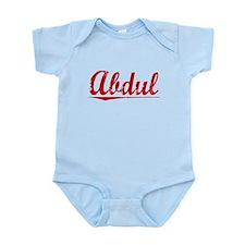 Abdul, Vintage Red Infant Bodysuit