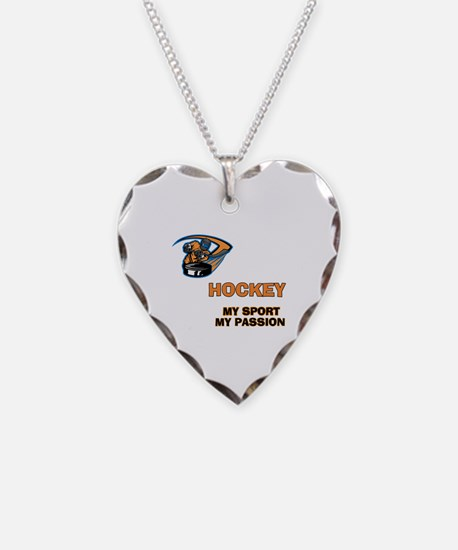 Hockey My Passion Necklace