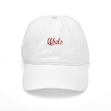 Abels, Vintage Red Baseball Cap