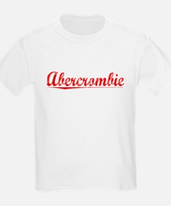 Abercrombie, Vintage Red T-Shirt
