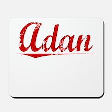 Adan, Vintage Red Mousepad