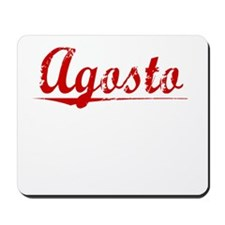Agosto, Vintage Red Mousepad