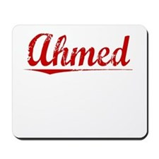 Ahmed, Vintage Red Mousepad