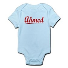 Ahmed, Vintage Red Infant Bodysuit