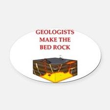 geology gifts Oval Car Magnet