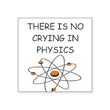 "physics gifts Square Sticker 3"" x 3"""