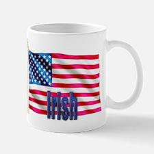 Irish Personalized Patriotic USA Flag Gift Mug