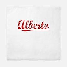 Alberto, Vintage Red Queen Duvet