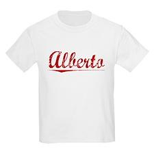 Alberto, Vintage Red T-Shirt