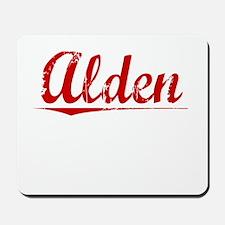 Alden, Vintage Red Mousepad