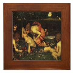 Awakening of Adonis Framed Tile