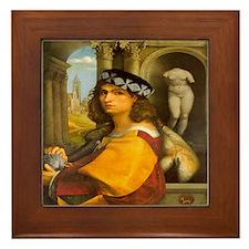 Casanova Framed Tile