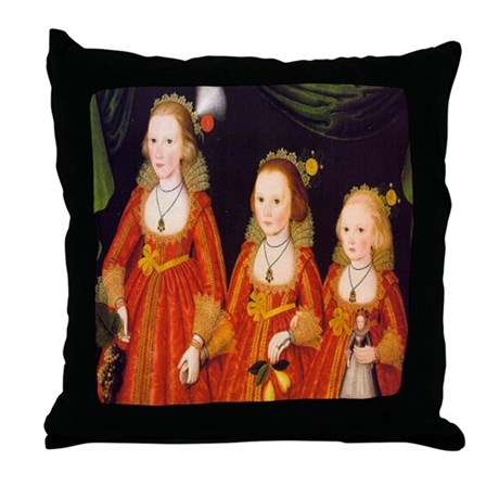 The Three Sisters, 1620 Throw Pillow