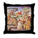 Cassianus Corvina Throw Pillow