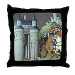 The Duke's Journey Throw Pillow