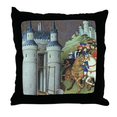 The Duke's Journey Throw Pillow
