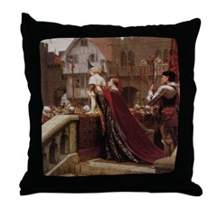 The Young Prince Throw Pillow