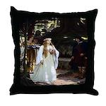The Fair Lady Throw Pillow