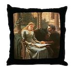 Princess Isolde Throw Pillow