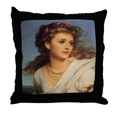 Portrait of Miranda Throw Pillow