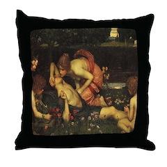 Awakening of Adonis Throw Pillow