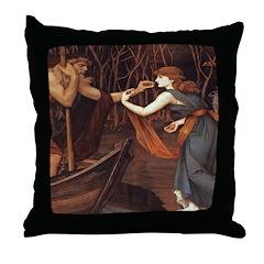 Psyche & Charon Throw Pillow