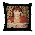 Regina Cordium Throw Pillow