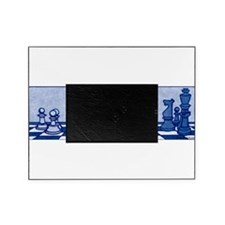 Chess: Study in Blue Picture Frame
