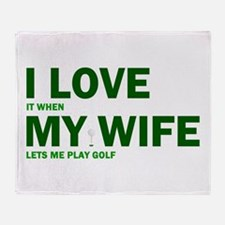 Funny Golf I Love it when my wife lets me play go