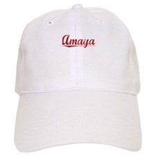 Amaya, Vintage Red Baseball Cap