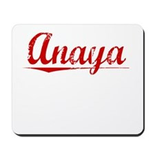 Anaya, Vintage Red Mousepad