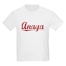Anaya, Vintage Red T-Shirt
