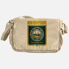 New Hampshire Seal (back) Messenger Bag