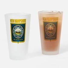 New Hampshire Seal (back) Drinking Glass