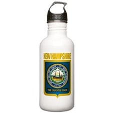 New Hampshire Seal (back) Water Bottle