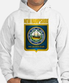 New Hampshire Seal (back) Hoodie