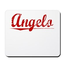 Angelo, Vintage Red Mousepad