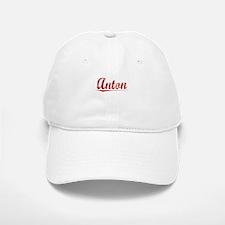 Anton, Vintage Red Baseball Baseball Cap