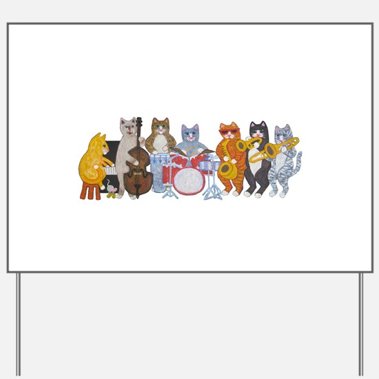 salsacatband -Final-Cafepress.jpg Yard Sign