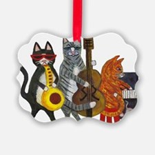JazzCatsCut-out for Zazzle_FINAL.jpg Ornament
